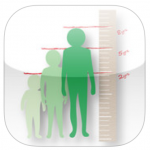 KidMeasure – camera based app to measure and record children's height and store data and images for later viewing and emailing