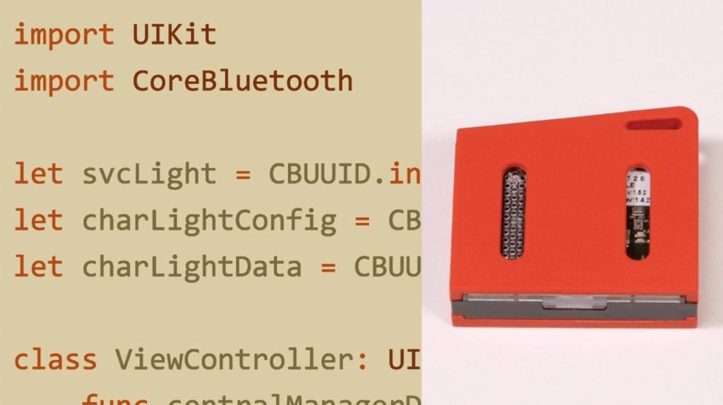iOS CoreBluetooth BLE Online Course